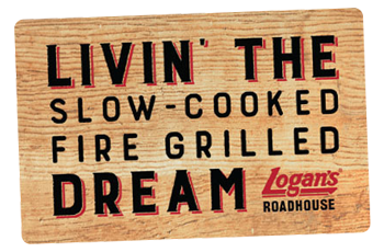 Logan's Roadhouse Gift Cards from CashStar